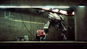 Bunker Level 4E by AnthonyScime
