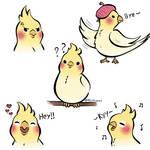 Bird moods by RaiCheezz