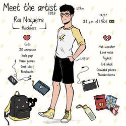 Meet the artist (2019) by RaiCheezz