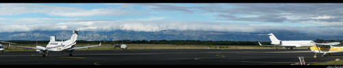 Zadar Airport - Panorama by JaNuLiEnKa