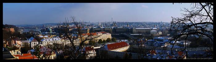 Prague - Panorama by JaNuLiEnKa