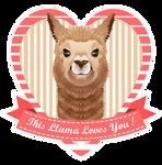 Love Llama by Youlia007