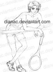 Jiroh sketch by DianaC