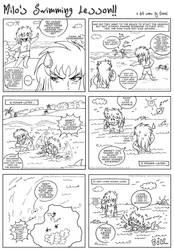 Milo's Swimming Lesson by DianaC