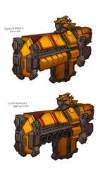 Mining Ship by IronStylus