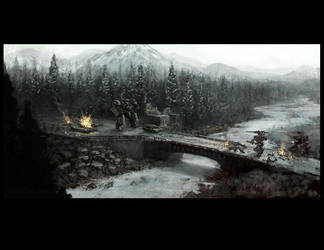 Winter Battlefield by IronStylus