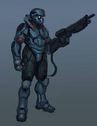 Power Armor WIP by IronStylus