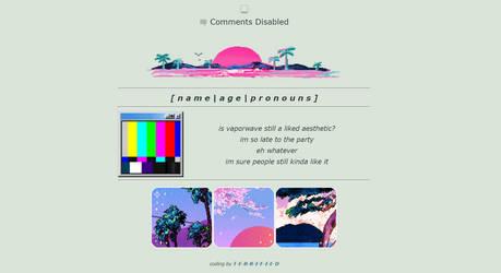 vaporwave is dead | f2u code by T-E-R-R-I-F-I-E-D
