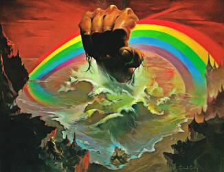 Rainbow Rising by Ken Kelly by Ihel