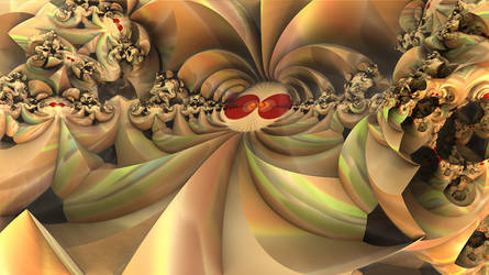 dIFS pong rnd 15 Eyes of a Fractal by Almog53