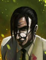 Professor Hojo by steven-donegani