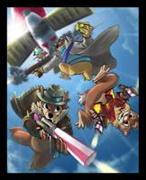 Danger Rangers by steven-donegani