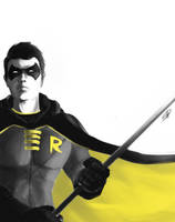 Speed Paint: Robin by steven-donegani