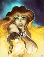 Starfire by steven-donegani