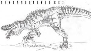 Tyrannosaurus Rex II by TITANOSAUR