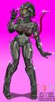 Alien girls are friendly by TITANOSAUR