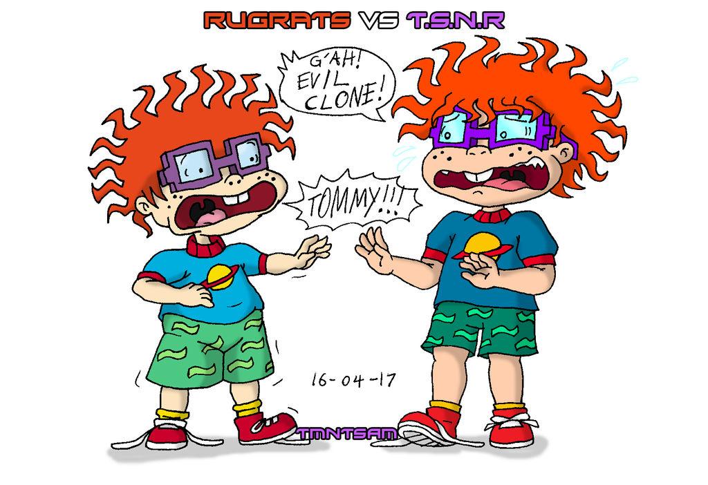 Rugrats vs TSNR 2 - Chuckie by tmntsam on DeviantArt