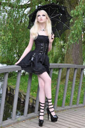 Gothic Doll Stock by MariaAmanda