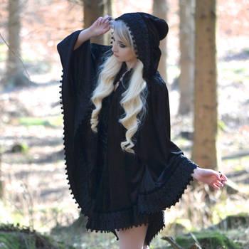 Dark Riding Hood - Stock by MariaAmanda