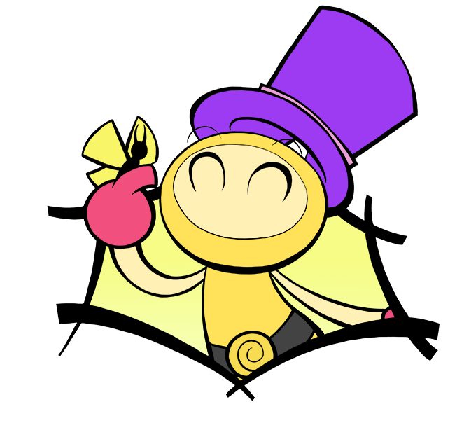 Yellow Bomber and Mr Butterfly by Katzii-Yataki