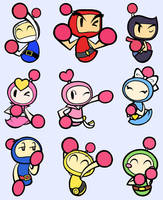 Bomberman Brothers by Katzii-Yataki