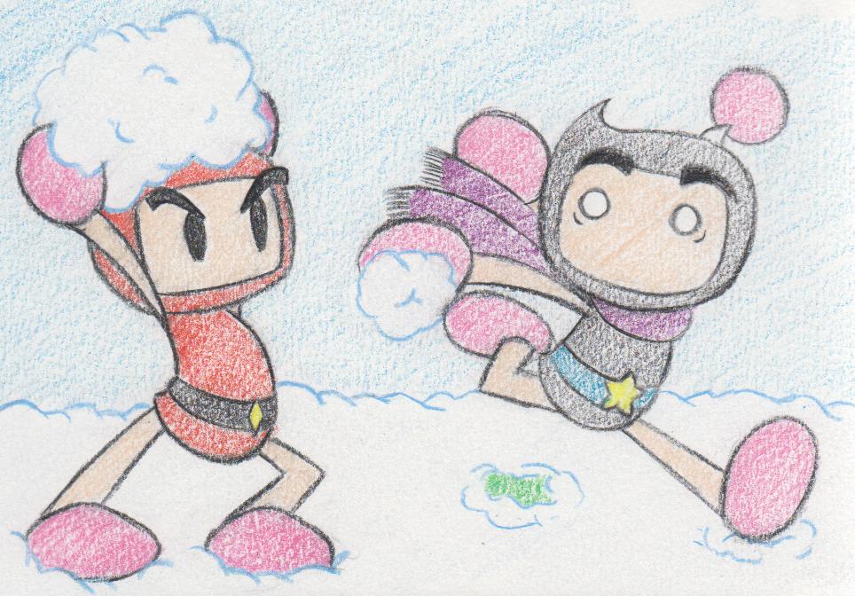 Snow Day 3/4 by Katzii-Yataki