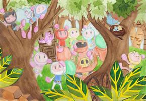 Golem's Babies by Katzii-Yataki