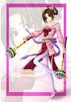 DW Fanart: Diao Chan by Setomi