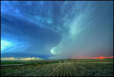Last Chance Storm IV by FramedByNature