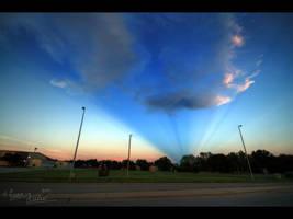 Anticrepuscular Evening by FramedByNature