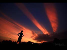 Shadows Through the Sky by FramedByNature
