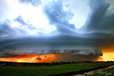 Stormy September Horizons II by FramedByNature