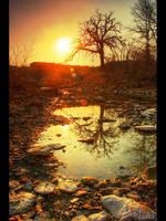 Eureka Lake Falls II by FramedByNature