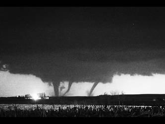 Tornado Composite - Arthur, IA by FramedByNature
