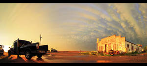 Forgotten Repairs - Panorama by FramedByNature