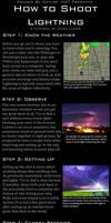 Lightning Photography Tutorial by FramedByNature