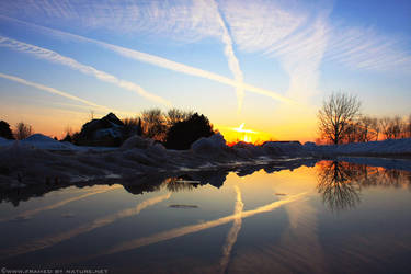 Reflections of Winter by FramedByNature