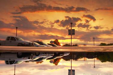 Meteorological Mirror by FramedByNature