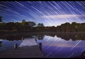 Moonlight Docks by FramedByNature