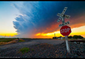 Thunder Rails by FramedByNature