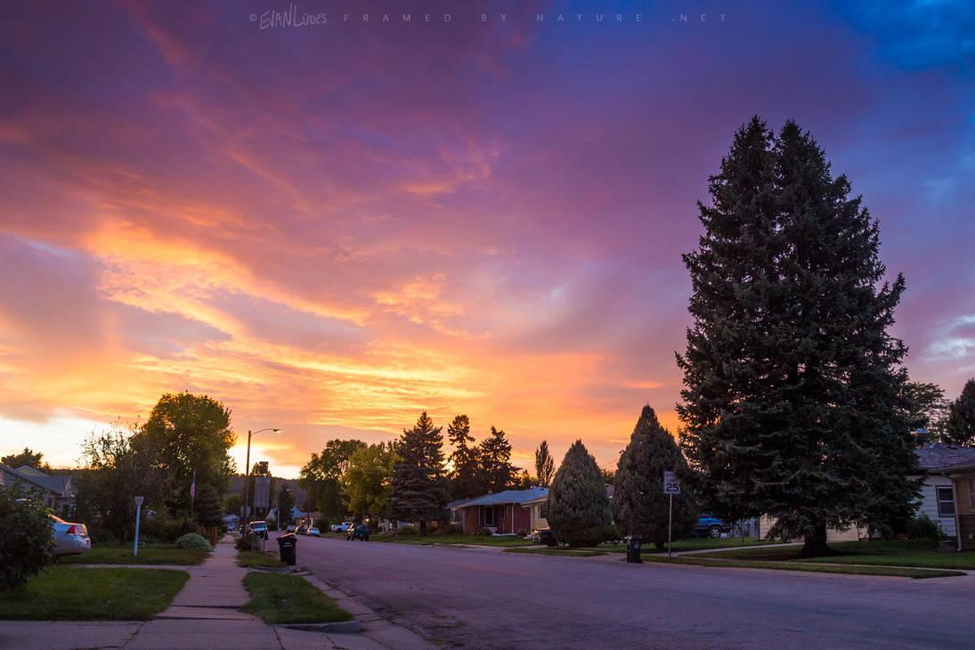 Westside Sundown by FramedByNature