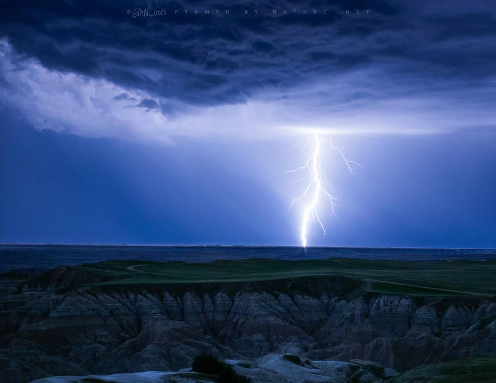 Badlands Bolt by FramedByNature