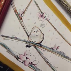 lil birdie by WinterDoorBell-zhun