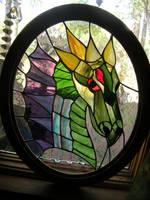 Glass Dragon Side 2 by LCheek