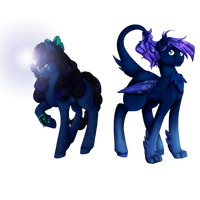 Cosmic Couple by Rosewend