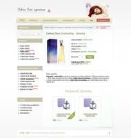 Celine Dion Signature eshop by designbold