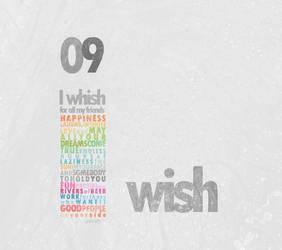09: I wish for all my friends by Gabryellalf