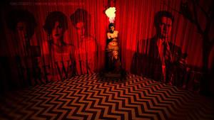 Twin Peaks - The Black Lodge by BlueLionInc