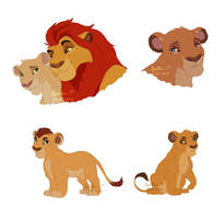 TLG Character and cubs designs by Irete