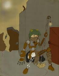 City of Heroes: Skrapt - The Hermit (2006) by mistformsquirrel